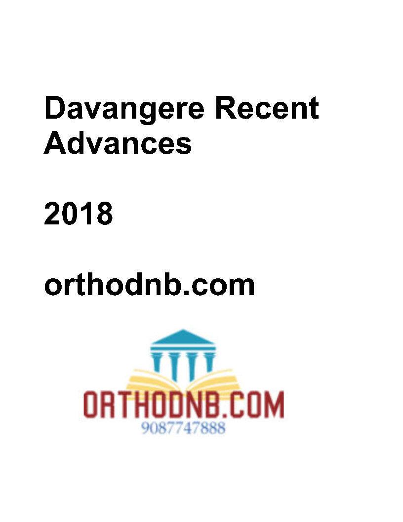 Davangere Recent Advances in Orthopaedics