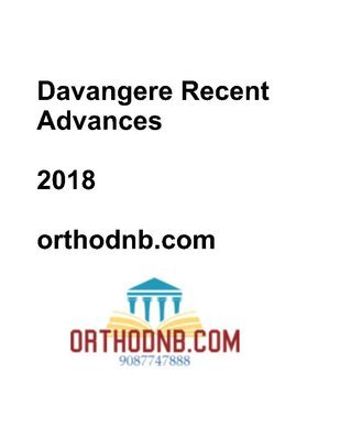 Davangere Recent Advances in Orthopaedics
