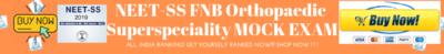 NEET-SS FNB ORTHOPAEDICS ONLINE MOCK EXAM