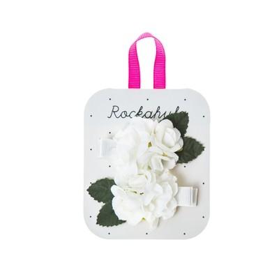 Rockahula Kids Flower Girl Spring Flower Clips Ivory