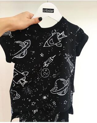 Cribstar Space T-Shirt & Leggings SET