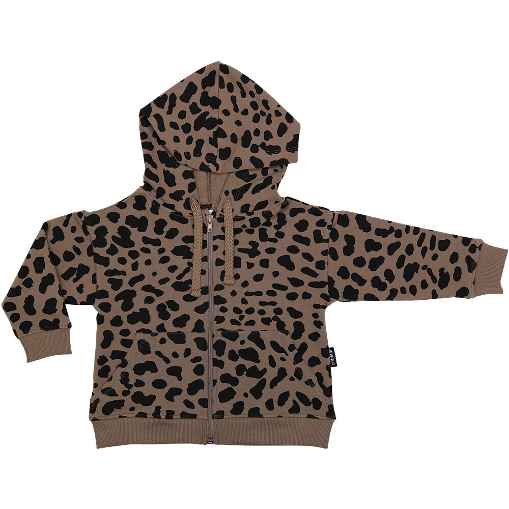 Cribstar Brown Spots Hoodie & Leggings Set