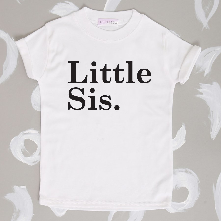 Lennie&co Little Sis T-shirts