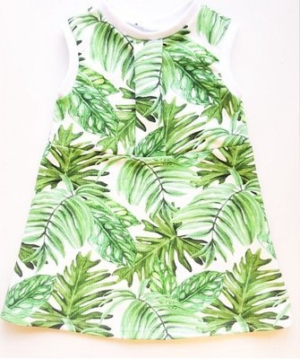 Hey bb - Botanical Garden Sixty inspired style dress with matching bow