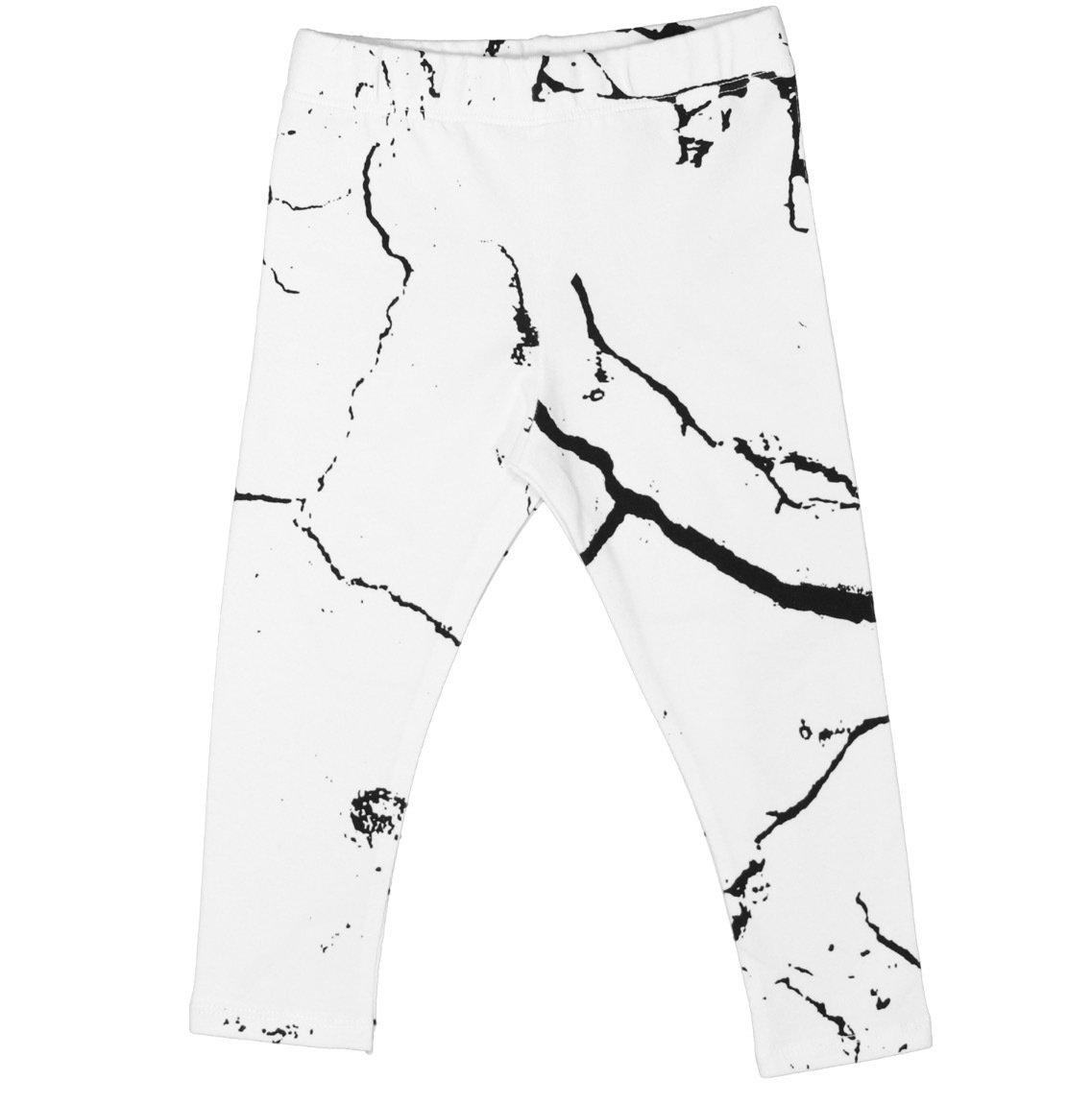 Cribstar Cracks White Leggings