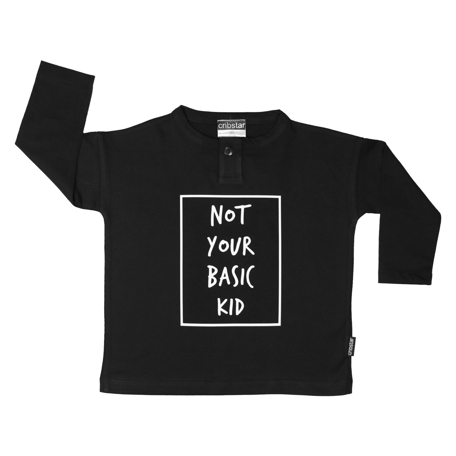 Cribstar 'Not Your Basic Kid' long sleeved top