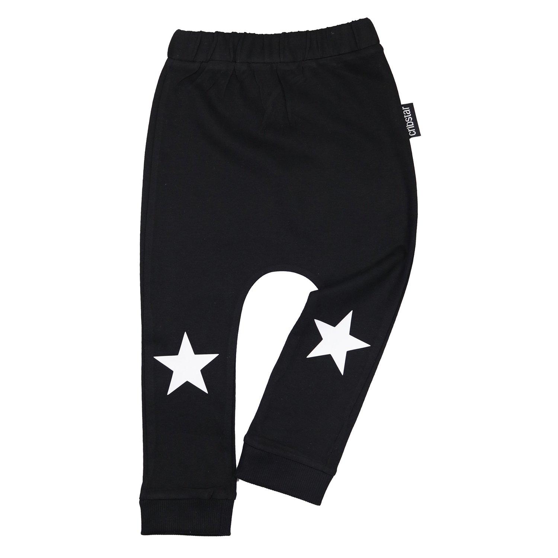 Cribstar White Stars Harem Leggings