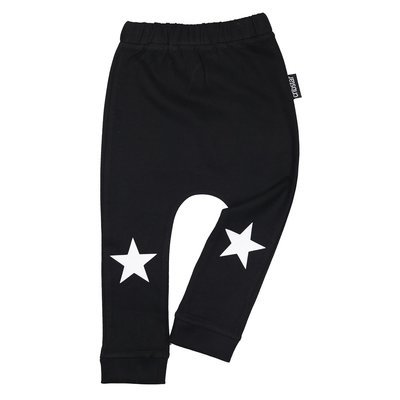 Cribstar White Stars Harem Leggings