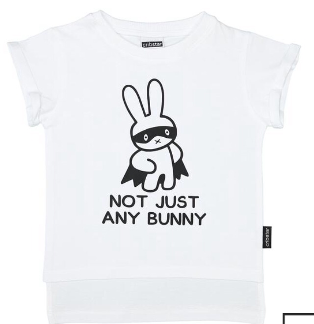 Cribstar White Not Just Any Bunny T-Shirt