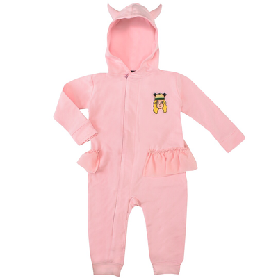 Raspberry Republic Pink Horned Hoodie Onesie