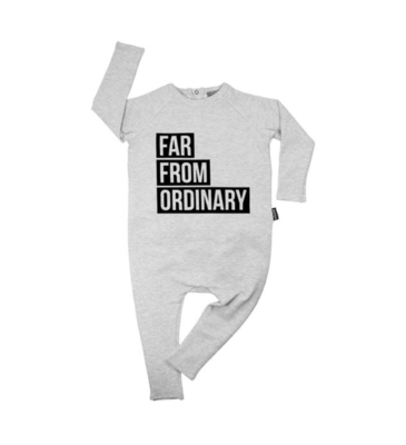Cribstar Far From Ordinary Harem Romper - Grey