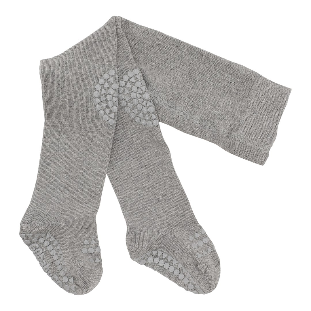 GoBabyGo Crawling Tights - Grey