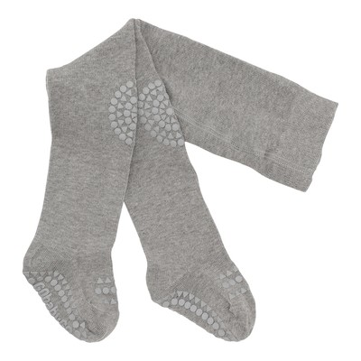 GoBabyGo Crawling Tights - Grey