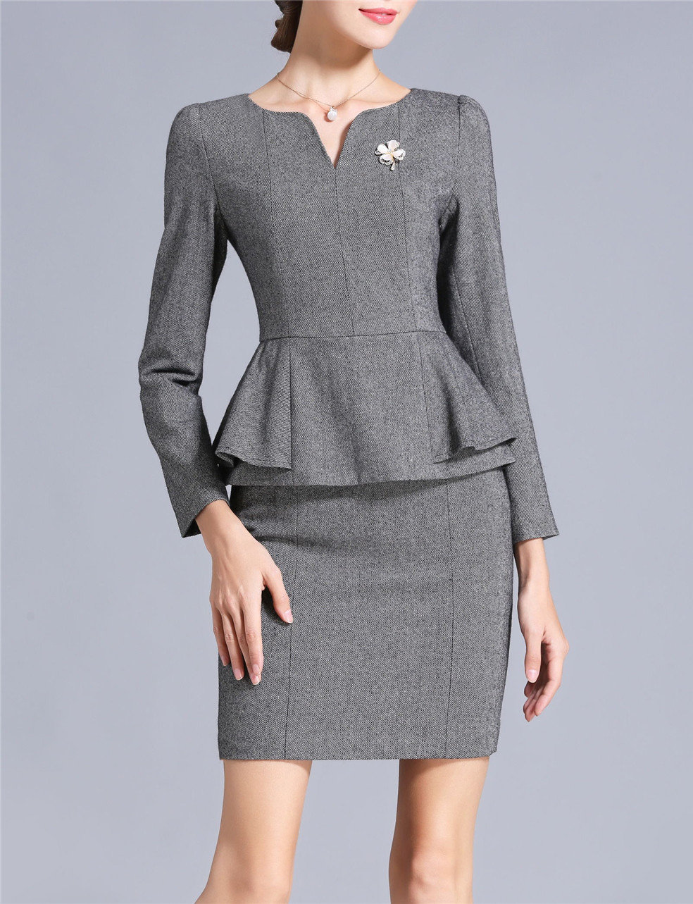 Made to Measure Business Attire Women Autumn Dress