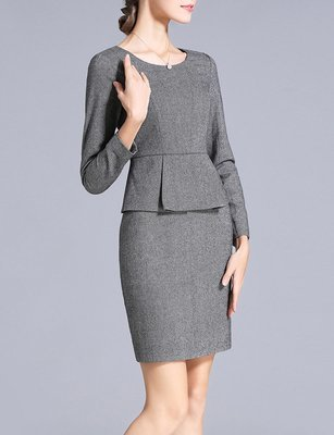 Ladies Fall Dress Suits Made to Measure