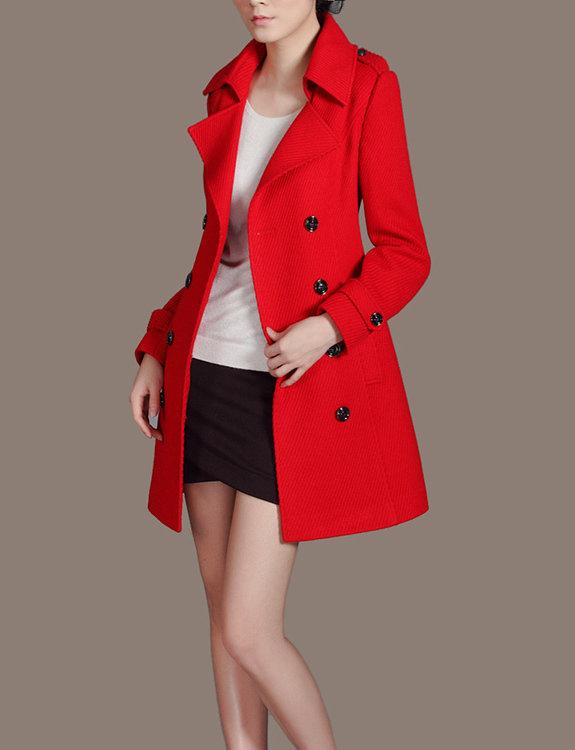 Women Red Coat for Christmas