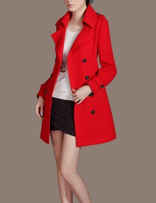 Women Red Coat for Christmas