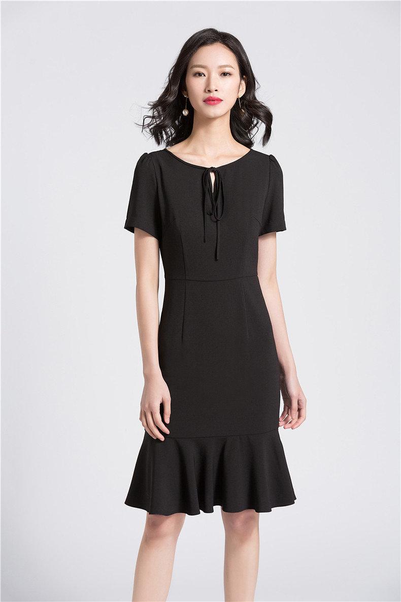 Custom Lady Dress Flared Party Dress