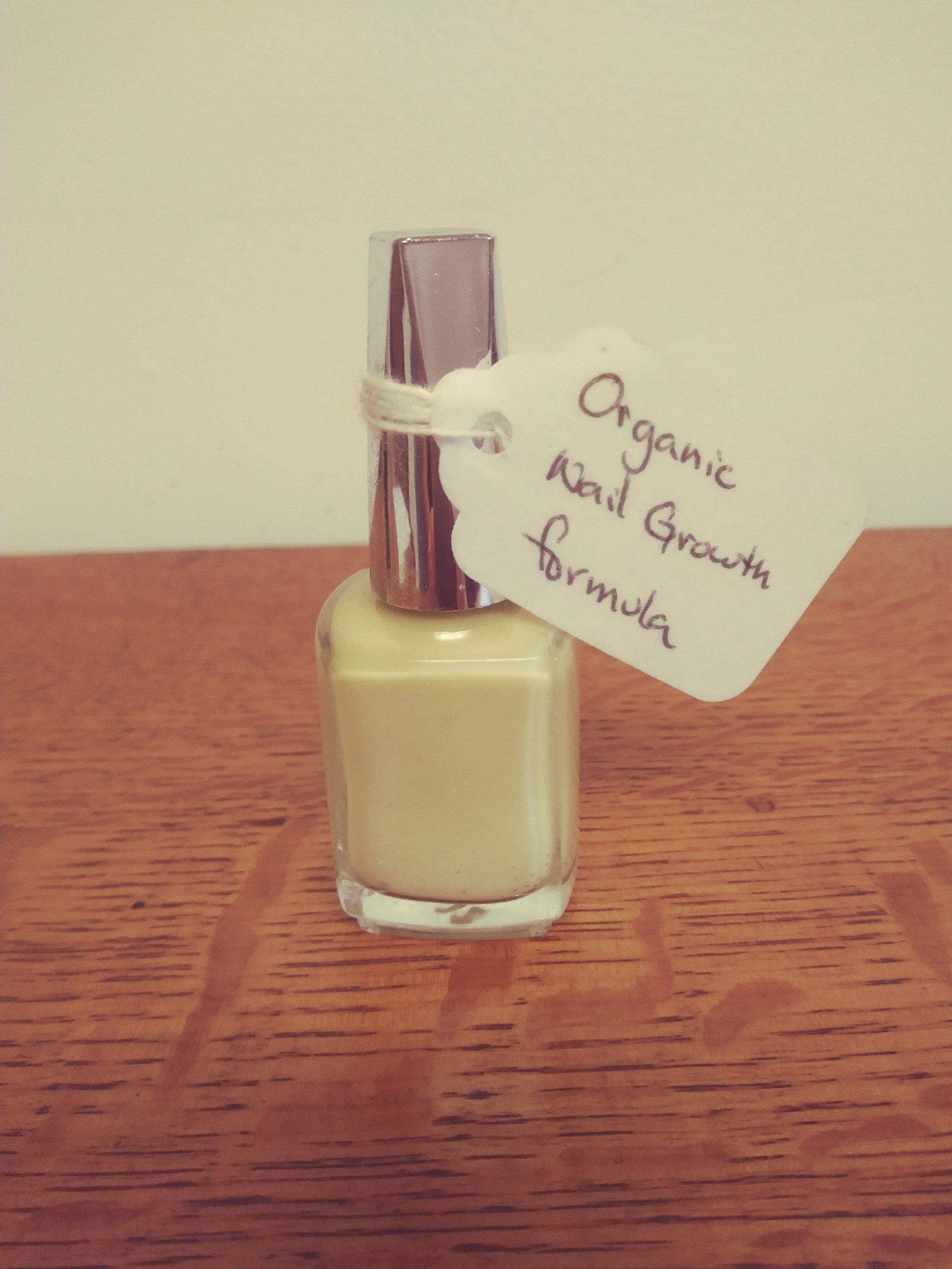 Organic nail growth formula | pachamamashc