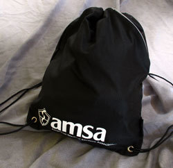 AMSA Logo Eco-Smart Cinch Bag 0000002