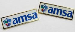 AMSA Logo Lapel Pin 0000003