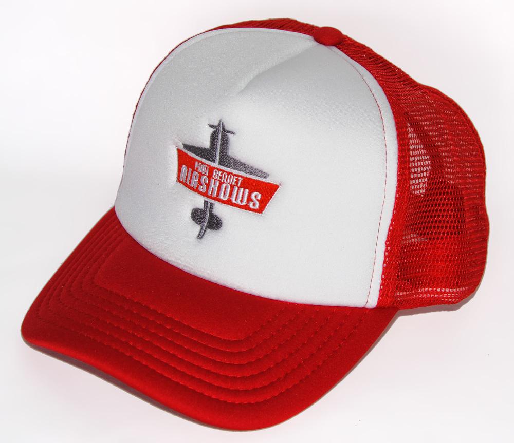 PBA Truckers Cap RED/WHITE