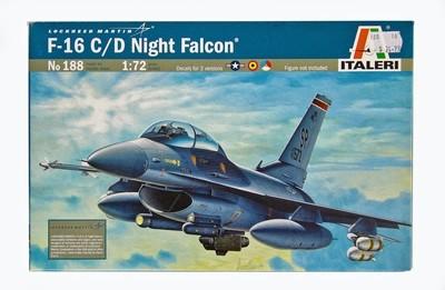 F-16 Plastic Model Aircraft Kit