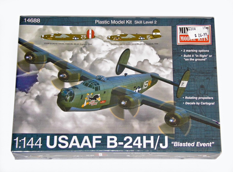 B-24 Plastic Model Aircraft Kit