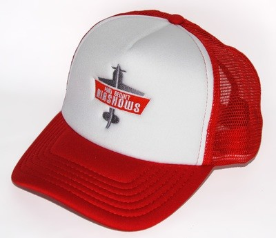 PBA Truckers Cap RED/WHITE