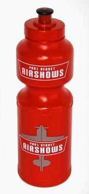 PBA Plastic Water Bottle RED
