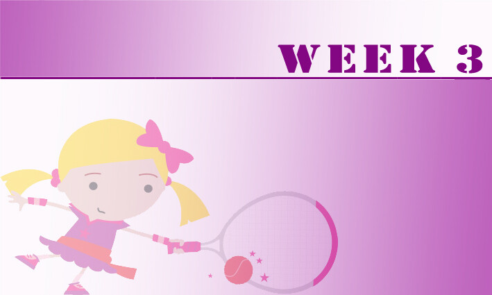 Tots (AGES 3+4)  Summer Camps Week 3: 15th July - 19th July