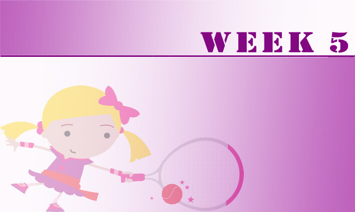 Tots (AGES 3+4)  Summer Camps Week 5: 29th July - 2nd August