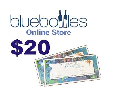 Bluebottles Gift Voucher - $20.00
