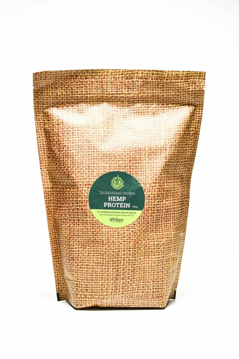 Mr Hemp Tasmanian Grown Organic Hemp Protein 500g