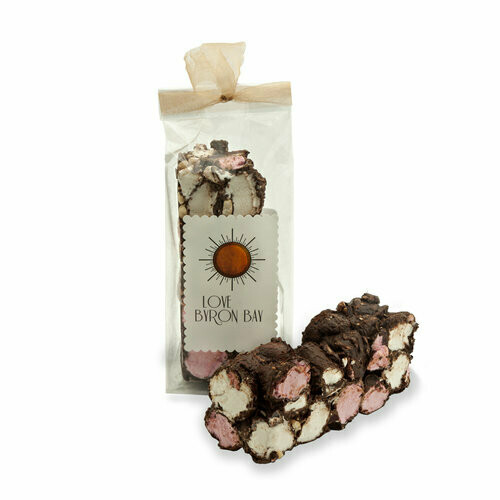 Love Byron Bay Rocky Road - Dark Chocolate 200g