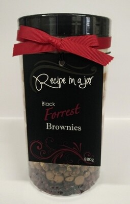 Recipe in a Jar - Black Forrest Brownies Mix 880g