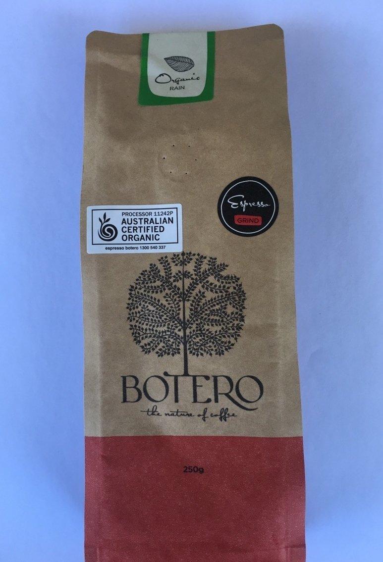 Botero 'Organic Rain' - Espresso Grind 250g