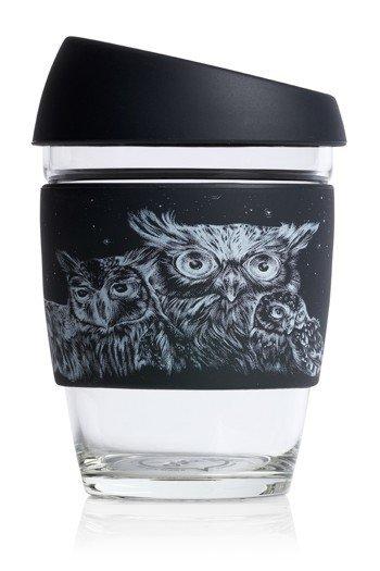 JOCO 12oz Reusable Glass Cup (Mug Size) Artist Series - Jen Lobo