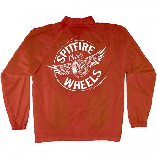 Spitfire Flying Classic Lightweight Coaches Jacket Red/White