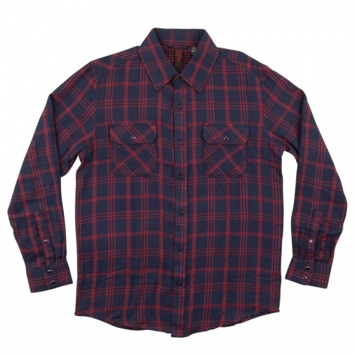 Independent Rambler Button Up Flannel Long Sleeve Shirt