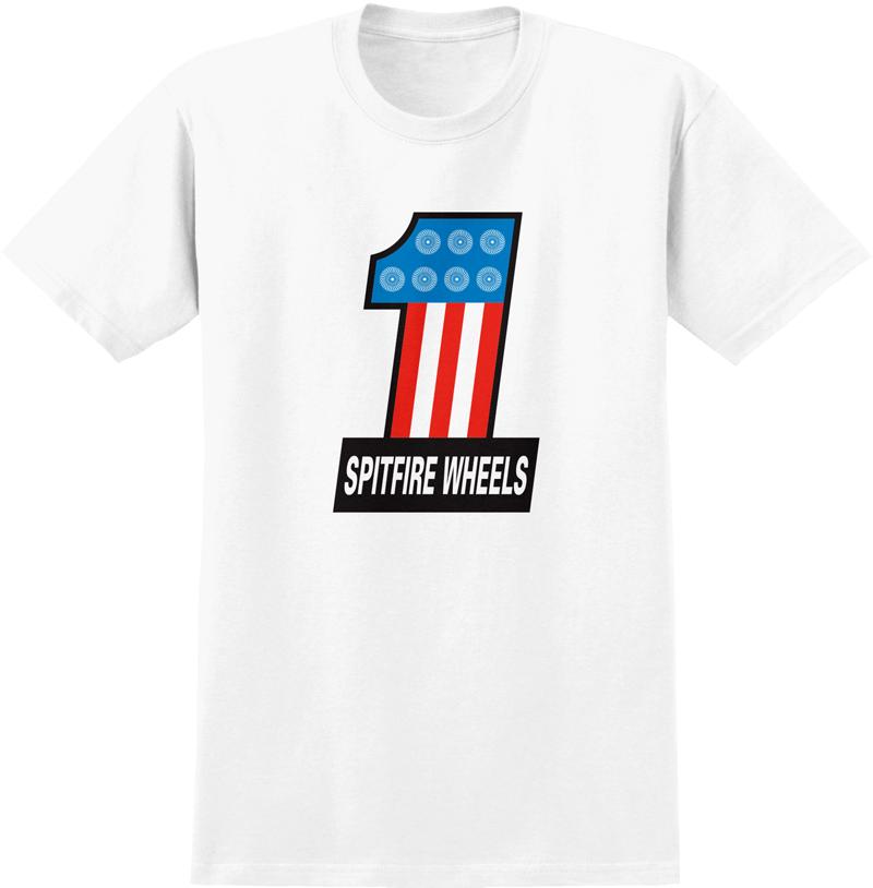 Spitfire #1 T-Shirt White
