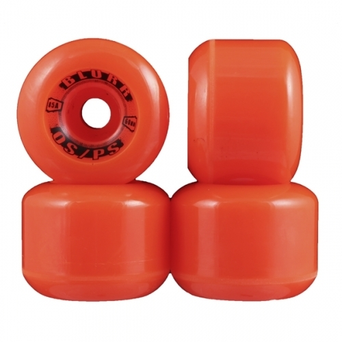 Vision Blurr Wheels Orange 60mm 85a (Set of 4)