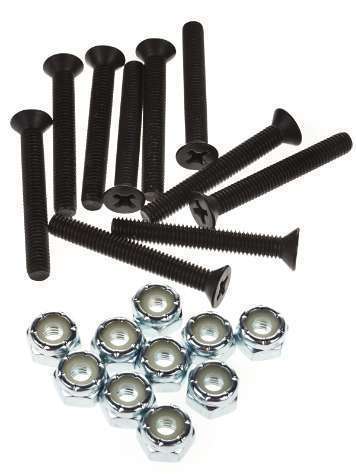Generic Mounting Hardware (Set of 8)