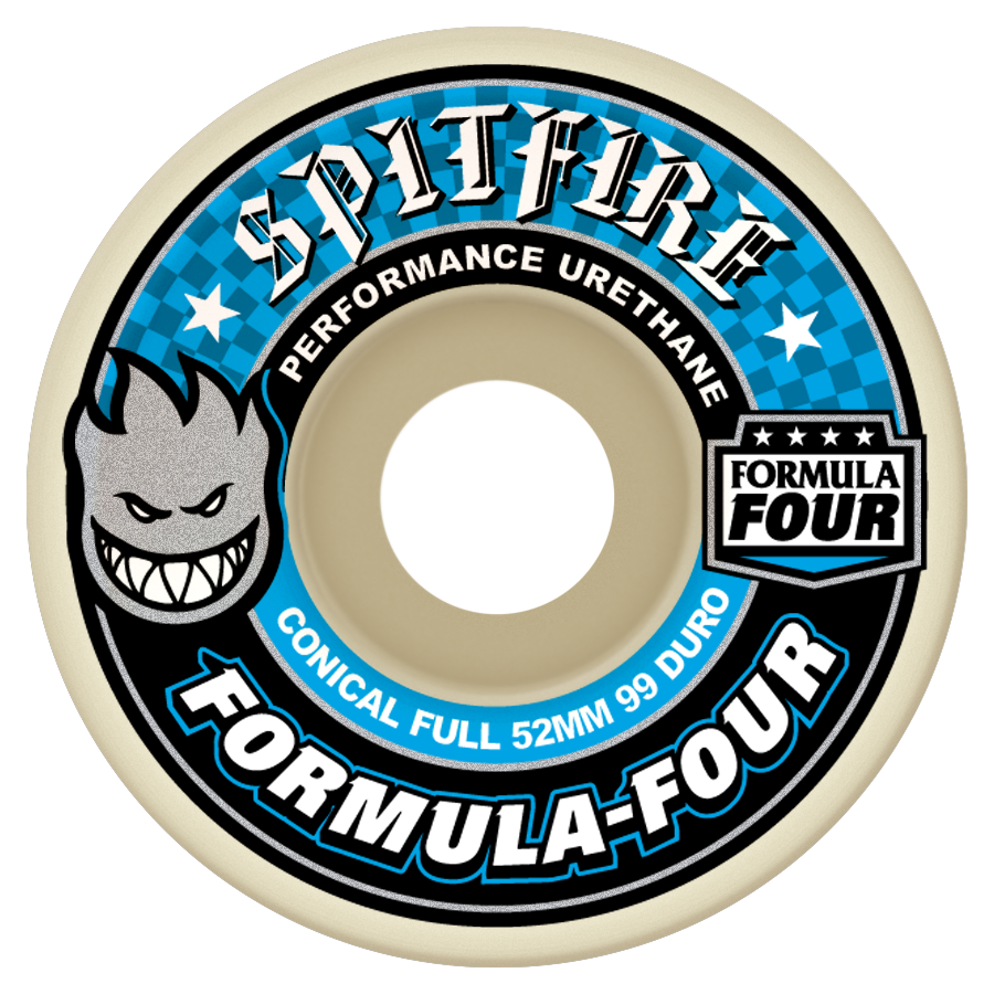 Spitfire Formula Four Conical Full Shape Wheels 99a