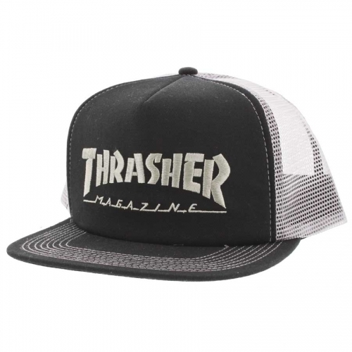 Thrasher Logo Embroidered Mesh Hat