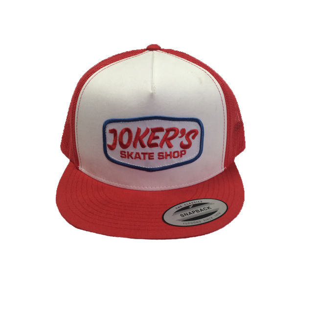 Jokers Classic Logo Patch Mesh Hat Red