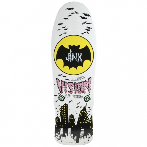 Vision Marty Jimenez Jinx Mini Re-Issue Deck  9.5x30 - Assorted Stains