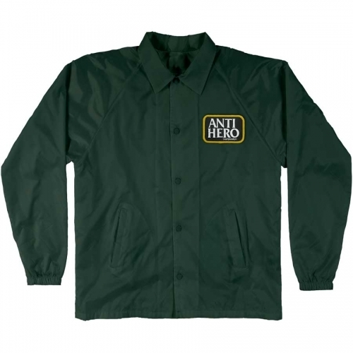 Anti Hero Reserve Patch Wind Breaker Jacket Dark Green