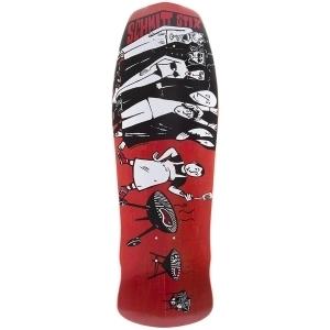 Schmitt Stix Joe Lopes BBQ Re-Issue Deck Red 10x30