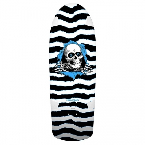 Powell Peralta OG Ripper Re-Issue Deck  Black/White 10x31